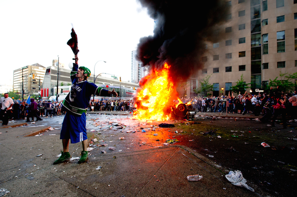 A Riot in Vancouver? What is Wrong with you People?