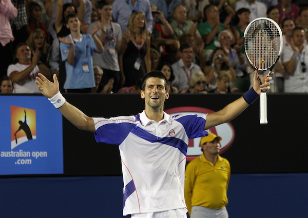 The Return Heard Round the World — Djokovic Beats Federer