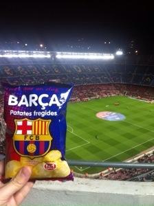 Reflections on a Visit to Barcelona FC's Camp Nou