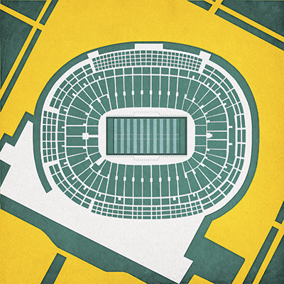 Stadium prints for sports fans