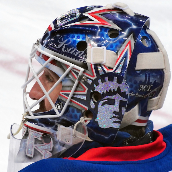 Hockey goalie masks: individuality in sports