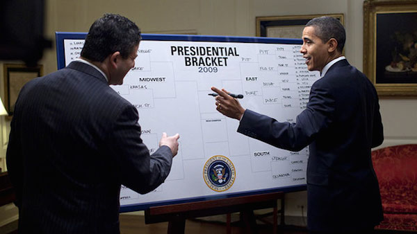 Ways to fill out a March Madness Bracket: Chalk