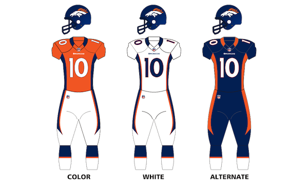 Denver Broncos Uniforms