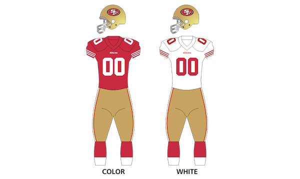 San Francisco 49ers Uniforms