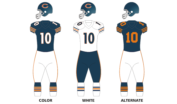 Chicago Bears Uniforms