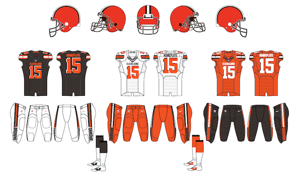 Cleveland Browns Uniforms