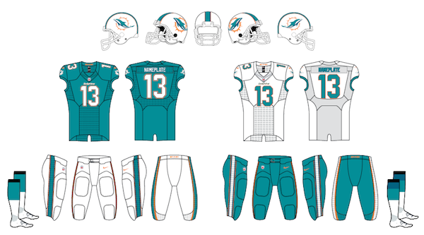 Dolphins Uniforms