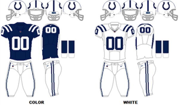 huge discount 03f2e 1c1ef ... Indianapolis Colts Uniforms ...
