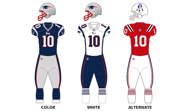 Patriots Uniforms