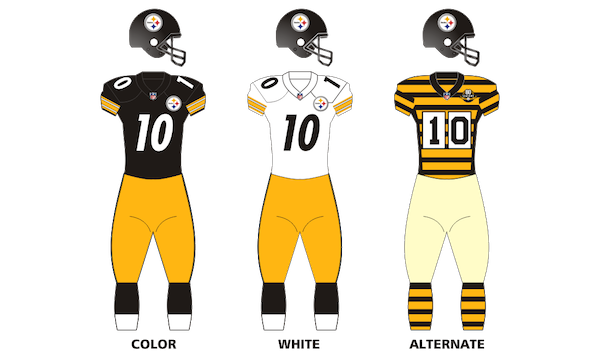 Pittsburgh Steelers Uniforms
