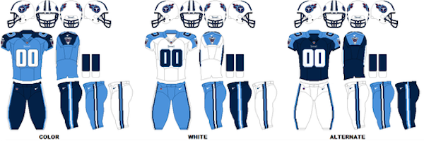 Tennessee Titans Uniforms
