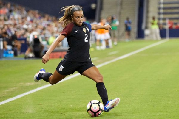 Meet the 2019 USWNT: Mallory Pugh